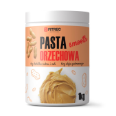 FITREC Pasta orzechowa 1000g - Smooth